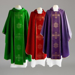 Gothic Chasuble 8291 - Green