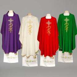 Gothic Chasuble 8309 - Purple