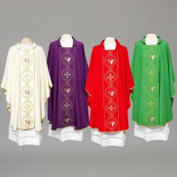 Gothic Chasuble 8315 - Purple