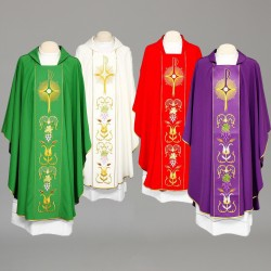 Gothic Chasuble 8318 - Cream