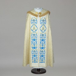 Marian Gothic Cope 7770 - Gold