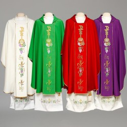 Gothic Chasuble 8330 - Cream