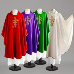 Gothic Chasuble 8358 - Cream