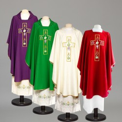 Gothic Chasuble 8371 - Purple