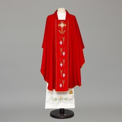 Gothic Chasuble 8373 - Red