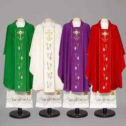 Gothic Chasuble 8378 - Purple