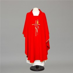 Gothic Chasuble 8393 - Red