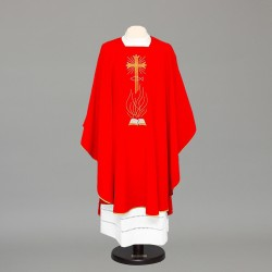Gothic Chasuble 8398 - Red  - 4
