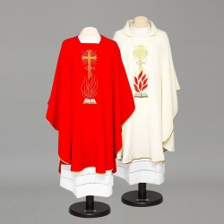 Gothic Chasuble 8399 - Cream  - 3
