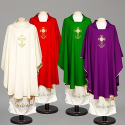 Gothic Chasuble 8288 - Red