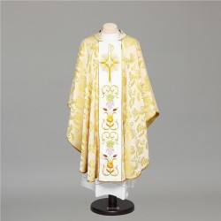 Gothic Chasuble 8429 - Cream