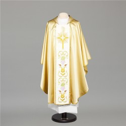 Gothic Chasuble 8430 - Gold