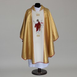 Gothic Chasuble 5784 - Gold  - 1