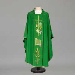 Gothic Chasuble 8475 - Green