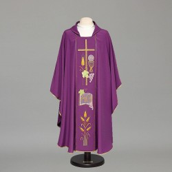 Gothic Chasuble 8476 - Purple