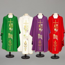 Gothic Chasuble 8477 - Cream