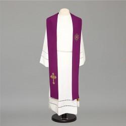 Gothic Stole 8485 - Purple  - 3