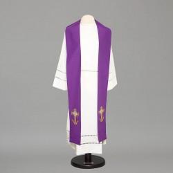Gothic Stole 8510 - Purple  - 1