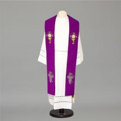 Gothic Stole 8513 - Purple  - 1