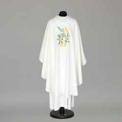 Gothic Chasuble 8522 - White