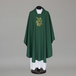 Gothic Chasuble 8524 - Green
