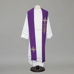 Gothic Stole 8541 - Purple  - 1