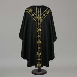 Gothic Chasuble 8564- Black  - 5