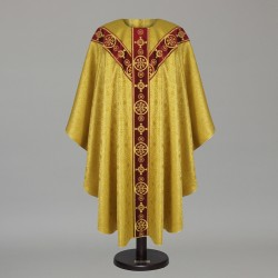 Gothic Chasuble 8565 - Gold