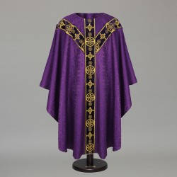 Gothic Chasuble 8566 - Purple