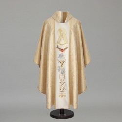 Gothic Chasuble 8589 - Gold