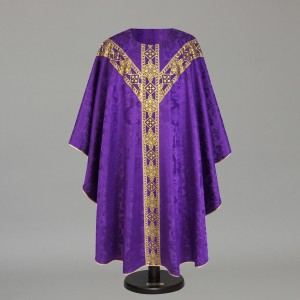 Gothic Chasuble 6152- White  - 10