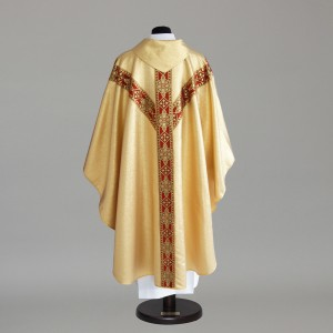 Gothic Chasuble 6152- White  - 11