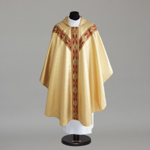 Gothic Chasuble 6152- White  - 12