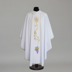 Gothic Chasuble 8721 - White