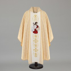 Gothic Chasuble 8734 - Gold