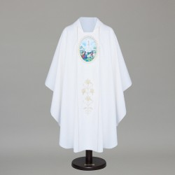 Gothic Chasuble 8738 - White