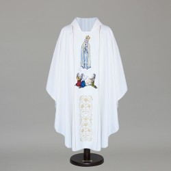 Gothic Chasuble 8740 - White
