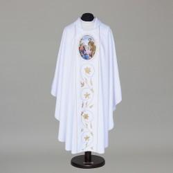 Gothic Chasuble 8743 - White  - 1