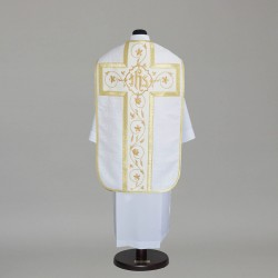 Roman Chasuble 8834 - White