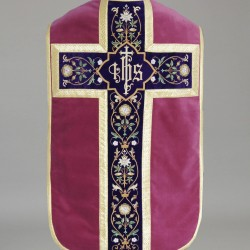 Roman Chasuble 8843 - Purple