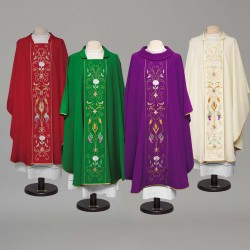 Gothic Chasuble 8984 - Purple