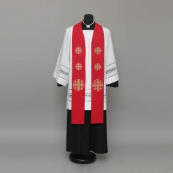 Gothic Stole 9153 - Red