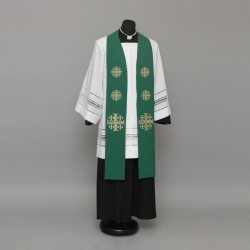 Gothic Stole 9157 - Green  - 6