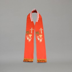 Gothic Stole 9158 - Red