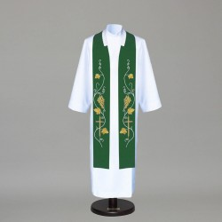 Gothic Stole 7599 - Green