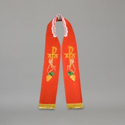 Gothic Stole 9170 - Red
