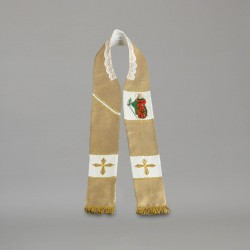 Gothic Stole 9180 - Gold  - 1