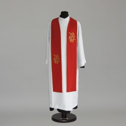 Gothic Stole 9260 - Red