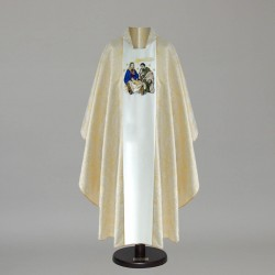 Gothic Chasuble 8939 - Gold  - 1