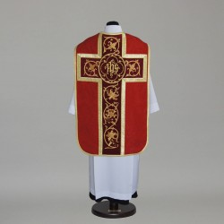 Roman Chasuble 2622 - Red